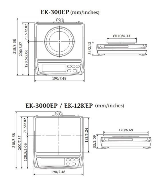EK-EP Intrinsically Safe IECEx Compact Scale
