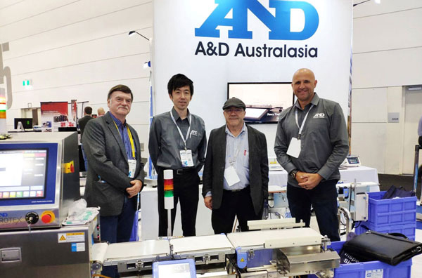 A&D Australasia at the 2019 AUSPACK trade show meeting customers