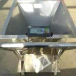 weighing coffee