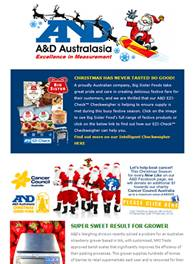 A&D Weighing Newsletter December 2013