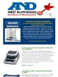 A&D Weighing Newsletter June 2012